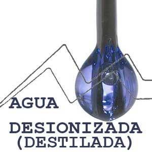 AGUA DESIONIZADA - AGUA DESTILADA
