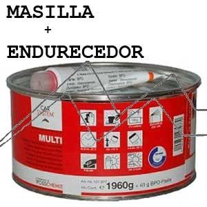 MASILLA DE POLIESTER + ENDURECEDOR