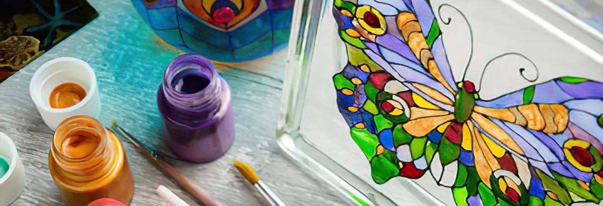 Pintura Vidrio - Cristal