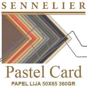 PAPEL LIJA PASTEL CARD SENNELIER