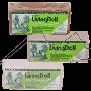 SCULPTING LIVING DOLL 454 GR - SUPER SCULPEY