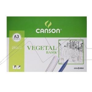 CANSON PAPEL VEGETAL 90GR A3