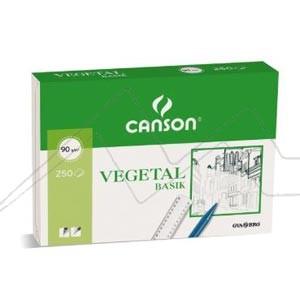 CANSON PAPEL VEGETAL 90GR A4
