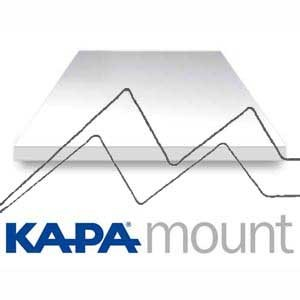 CARTÓN PLUMA KAPA MOUNT 5MM -Refuerzo de aluminio
