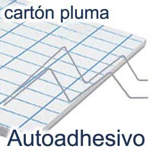 CARTÓN PLUMA KAPA - FIX 10MM ADHESIVO 1 CARA