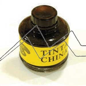 TINTA CHINA NEGRA FRASCO 60 ML