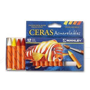 MANLEY CERAS ACUARELABLES