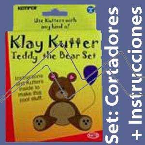 KEMPER CLAY CUTTER-OSO TEDDY CORTADORES