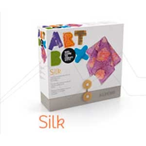 ALPINO ART BOX SILK - Set de manualidades