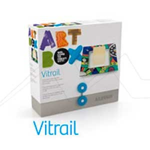 ALPINO ART BOX VITRAIL - Set de manualidades