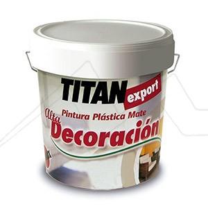TITÁN EXPORT ALTA DECORACIÓN - Pintura plástica mate