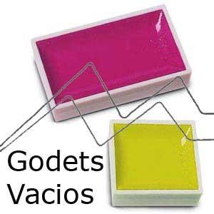 GODETS Y MEDIOS GODETS VACIOS