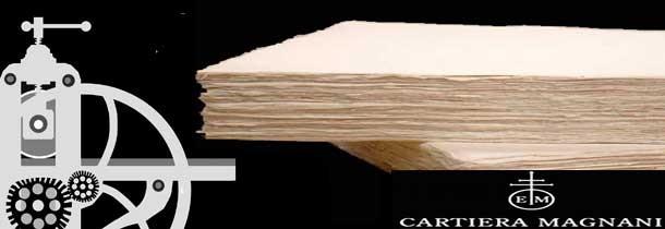 Papel grabado Cartiera Magnani