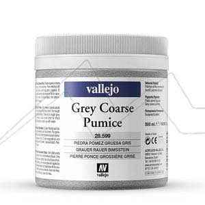 MEDIUM ACRÍLICO PIEDRA POMEZ GRIS GRUESA VALLEJO – ROUGH GREY PUMICE