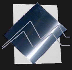 PLANCHA DE ZINC 0,65 MM DE GROSOR 50X100 CM