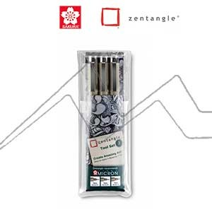 ZENTANGLE TOOL SET 3 PIEZAS