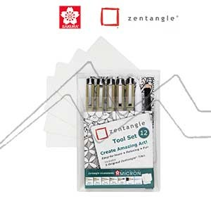 ZENTANGLE TOOL SET 12 PIEZAS