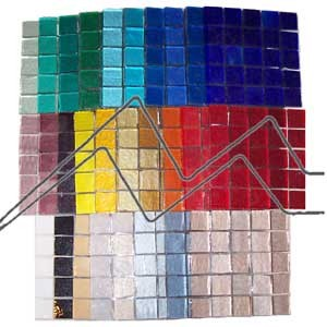 Pack 1500 mosaicos 10x10 mm 1000g