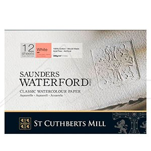 BLOCS ACUARELA SAUNDERS WATERFORD 300 GR