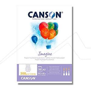 CANSON IMAGINE 200GR - BLOC MULTITÉCNICA - ACADEMY