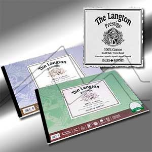 LANGTON PRESTIGE DALER ROWNEY BLOC ACUARELA  300G/M² ENCOLADO 4 LADOS