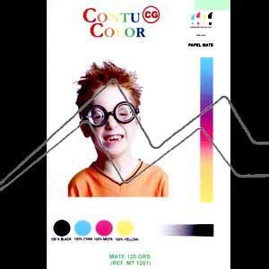 PAPEL INK-JET MATE CONTU-COLOR 120 GR