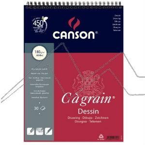 BLOC CANSON C À GRAIN 180GR