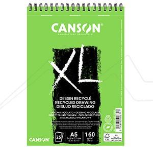 CANSON BLOC XL RECICLADO DIBUJO 160 GRS.ESPIRAL