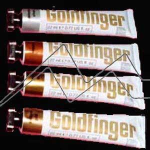 GOLDFINGER - Metales en crema