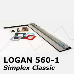 LOGAN TABLA PARA CORTE DE PASSE-PARTOUT SIMPLEX CLASSIC 550-1 Y 560-1
