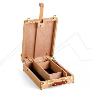 WINSOR & NEWTON SET PINTURA ACRÍLICO CAJA CABALLETE LIFFEY TABLE BOX EASEL + GALERIA ACRYLIC WINSOR & NEWTON SET