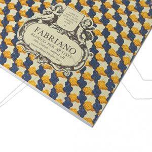 FABRIANO BLOC DE ACUARELA 300 G ENCOLADO 4 LADOS