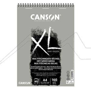 CANSON XL BLOC SAND GRAIN MULTITÉCNICAS SECAS 160G