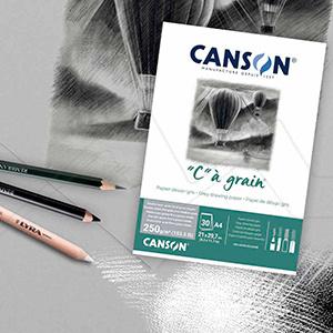 CANSON C À GRAIN BLOC