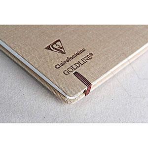 CLAIREFONTAINE GOLDLINE CUADERNO VIAJE 180 G