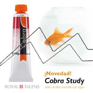 COBRA STUDY ÓLEO AL AGUA - ÓLEO TALENS COBRA STUDY MISCIBLE CON AGUA