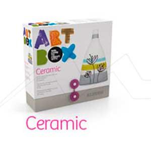 ALPINO ART BOX CERAMIC - Set de manualidades