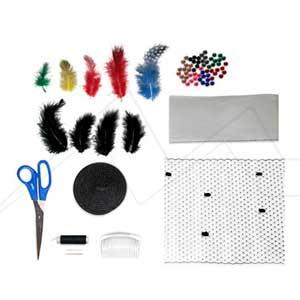 ALPINO ART BOX HEADDRESS - Set de manualidades