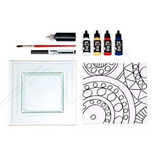 ALPINO ART BOX VITRAIL - Set de manualidades