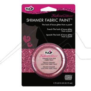 TULIP FASHION GLITTER - Pintura para tela efecto purpurina
