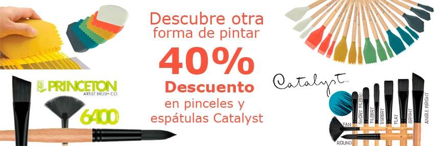 OFERTA ESPECIAL, PINCELES SILICONA CATALYST BLADES Y MINI BLADES - 40% DESCUENTO