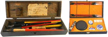 Cajas de caligrafía y Lettering