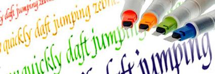Plumas de caligrafía y Lettering